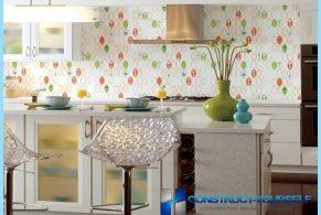 Opciones para el papel pintado cocina con fotos