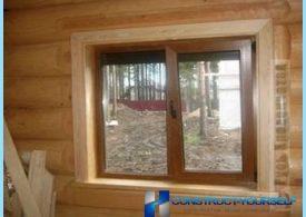 ¿Cómo instalar una ventana de plástico en el propio casa de madera
