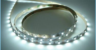 ¿Cómo se instala la tira de LED en el techo