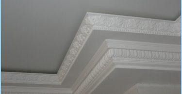 Formas zócalos de techo