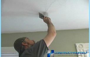 Cómo eliminar grietas en el techo