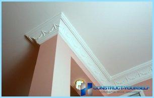 ¿Cómo elegir las molduras del techo derecho