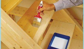 ¿Cómo pintar una escalera de madera