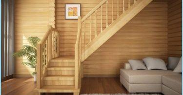 Escaleras de cabañas y casas particulares con fotos