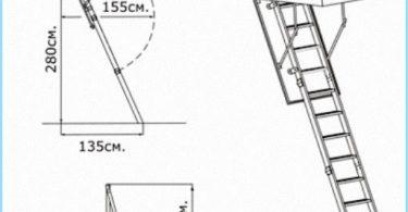 Instalación de escaleras del ático con vídeo