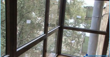 Cómo esmalte balcón Jruschov