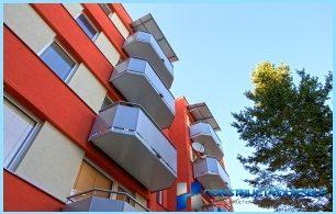 Las diferencias entre el balcón y una logia