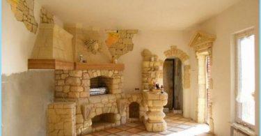 horno de piedra para baños y casas