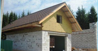 ¿Cómo construir un garaje de bloques de espuma