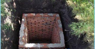 Construcción de baños en el país con sus propias manos