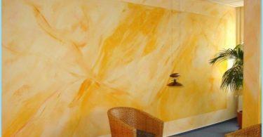 Pintura de silicatos para uso interior y exterior: la composición, caudal de 1 m2