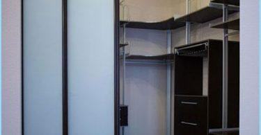 Ubicación de los estantes en el vestuario