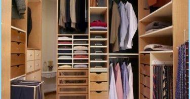 Diseño armario pequeño tamaño de la habitación