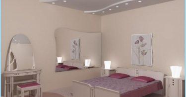 Diseño dormitorio techo de yeso con fotos