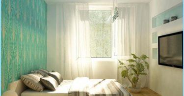 Diseño de un dormitorio en el Khrushchev