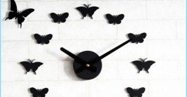 Cómo hacer mariposas en la pared con las manos