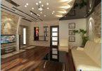 Diseño del techo de la sala de estar