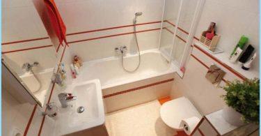 Diseñar una pequeña plaza con un baño de 3 fotos