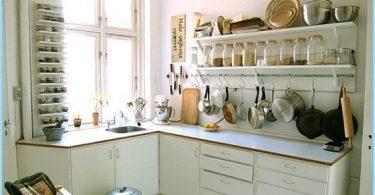 Diseño de la cocina en hruschevke