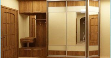 Diseño armario en el pasillo