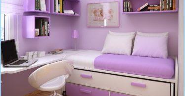 espacio interior para las niñas adolescentes