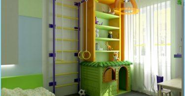 Área de Deportes en la habitación de los niños