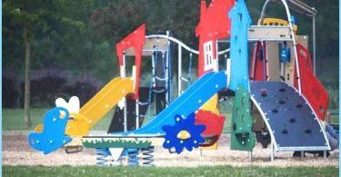 La instalación de un parque infantil con sus propias manos