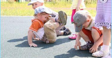 recubrimiento grumo de caucho para parques infantiles