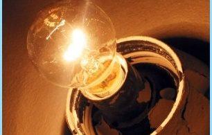 Razones parpadeo de la luz en el apartamento