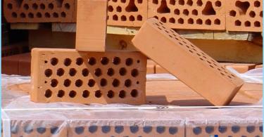 Características de ladrillos cerámicos