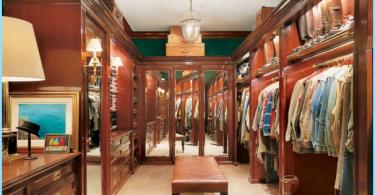 Las variantes del diseño de interiores y un gran vestidor