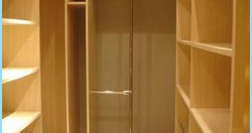Cómo equipar un vestidor en el apartamento