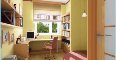 sala de estudiante de diseño moderno