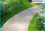 Esquema de parterres y macizos de flores plantación de plantas anuales y perennes